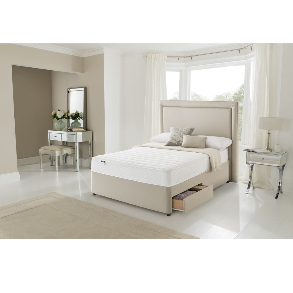 4ft6 Double Silentnight Mars Miracoil Memory Select Collection Mattress From The Sleep Shop