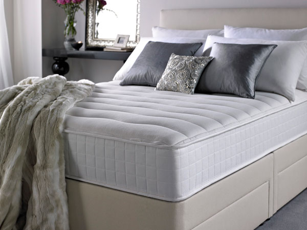 4ft6 Double Silentnight Mattress Now Memory 7 Zone Boxed